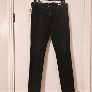 Rag & Bone Rock w/ Holes Skinny Jeans - w/ tags!